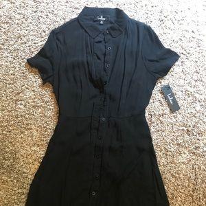Lulus button down sun dress
